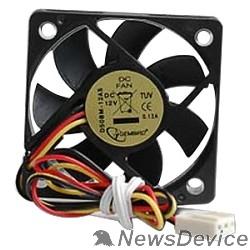 Вентилятор Gembird Вентилятор 50x50x10, подшипник, 3pin, провод 25 см D50BM-12AS
