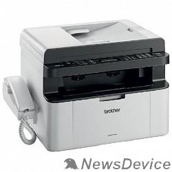 Принтер Brother MFC-1815R МФУ, A4, 16Мб, 20стр/мин, GDI, факс, трубка, ADF10, USB, лоток 150л, старт.картридж 1000стр (MFC1815R1)