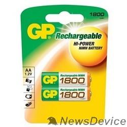 Аккумулятор GP 180AAHC-2DECRC2 20/200  (2 шт. в уп-ке) (180AAHC-2UE2)  аккумулятор