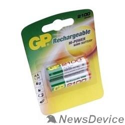Аккумулятор GP 210AAHC-2DECRC2 20/200 (2 шт. в уп-ке)  аккумулятор
