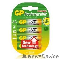 Аккумулятор GP 230AAHC-2DECRC4 40/400 (4 шт. в уп-ке)  аккумулятор
