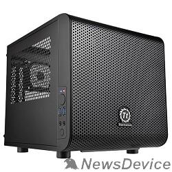 Корпус Case Tt Core V1  CA-1B8-00S1WN-00  mATX/ win/ black/ USB3.0/ no PSU