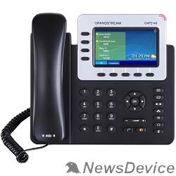 VoIP-телефон Grandstream GXP-2140, VoIP 2 Порта Ethernet 10/100/1000, 4 SIP линий, цветной TFT дисплей 48