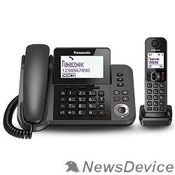 Телефон Panasonic KX-TGF320RUM Телефон DECT