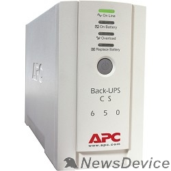 ИБП APC Back-UPS CS 650VA BK650EI