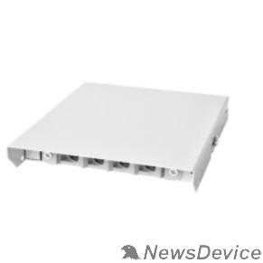 Монтажное оборудование ЦМО Оптический бокс (кросс) настенный, пенал, до 4 портов (БОН-НП-4)