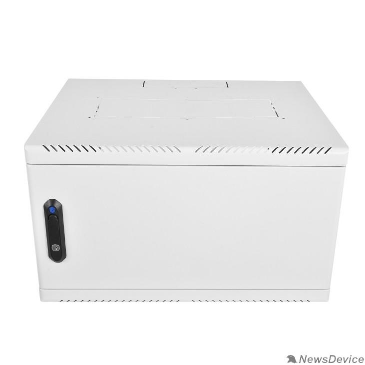 Монтажное оборудование ЦМО Шкаф телекоммуникационный настенный 6U (600х650) дверь металл (ШРН-6.650.1) (1 коробка)