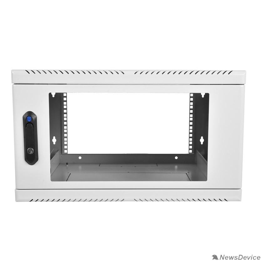 Монтажное оборудование ЦМО Шкаф телекоммуникационный настенный 9U (600х300) дверь стекло (ШРН-9.300) (1 коробка)