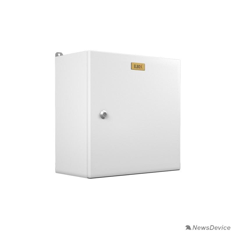 Монтажные шкафы, стойки Elbox Электротех.распред. шкаф IP66 навесной (В600*Ш500*Г250) EMW c одной дверью (EMW-600.500.250-1-IP66)