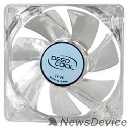 Вентилятор Case fan Deepcool XFAN 80L/B 80x80x25, 3 pin, 20dB, 1800rpm, 60g, blue LED