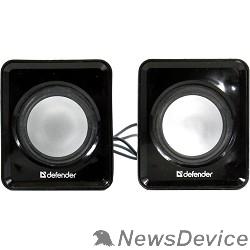 Колонки Defender SPK 22 черный, 5 Вт, питание от USB 65503