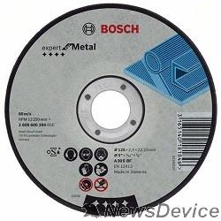 Bosch BOSCH 2608600394 ОТРЕЗНОЙ КРУГ МЕТАЛЛ 125Х2.5 ММ