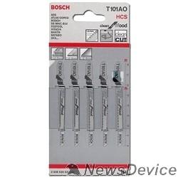 Bosch Bosch T 101 АО 2608630031 5 ЛОБЗИКОВЫХ ПИЛОК HCS