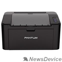 Pantum Pantum P2207 Принтер лазерный, монохромный, А4, 20 стр/мин, 1200 X 1200 dpi, 128Мб RAM, лоток 150 листов, USB, черный корпус