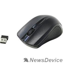 Мышь Oklick 485MW Black Мышь оптическая (1200dpi) беспроводная USB (3but) 997819