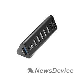 Контроллер HUB GR-315UB Ginzzu USB 3.0/2.0, 7 port(1xUSB3.0+6xUSB2.0)