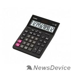 Калькулятор Калькулятор настольный CASIO GR-12(-W-EH(P)) черный Калькулятор 12-разрядный 993127