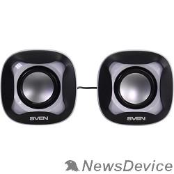 Колонки AC SVEN 170, чёрный-белый (5 Вт, питание USB)