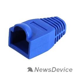 Коннектор 5bites US016-BL Колпачок  для коннектора RJ45 синий, 100шт