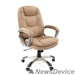 Офисные кресла Офисное кресло Chairman  668  (экопремиум 0009) pu бежевый  , 7007677