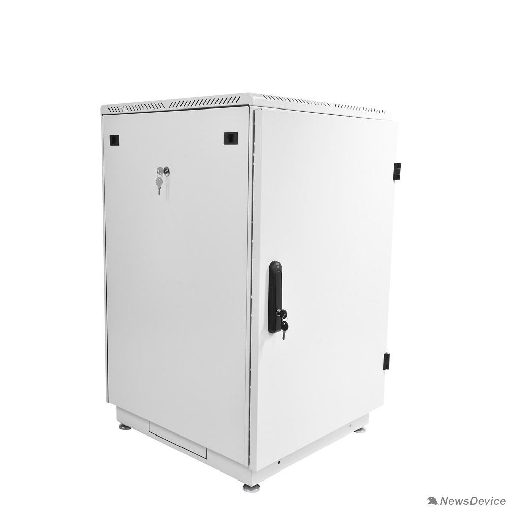 Монтажное оборудование ЦМО Шкаф телекоммуникационный напольный 18U (600x800) дверь металл (ШТК-М-18.6.8-3AAA) (2 коробки)
