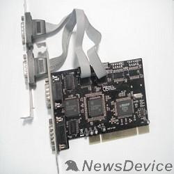 Контроллер ORIENT XWT-PS054V2 OEM 4 COM Ports, PCI