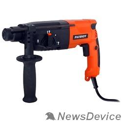 Перфоратор PATRIOT RH240 Перфоратор 140301300 SDS+, мощн. 790 Вт, 4 режима работы, макс.диаметр 24мм, в пласт.кейсе, набор буров, глубиномер