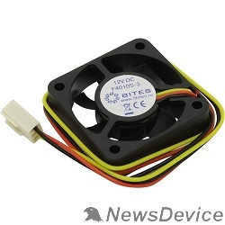 Вентиляторы 5bites F4010S-3 Вентилятор 40 x 40 x 10мм, подшипник скольжения, 5500RPM, 22dBa, 3 pin