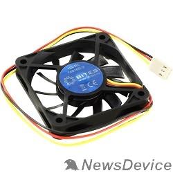 Вентиляторы 5bites F6010S-3 Вентилятор  60 x 60 x 10мм, подшипник скольжения, 3500RPM, 26dBa, 3 pin
