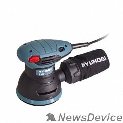 Шлифовальная машина HYUNDAI O 350 Эксцентриковая шлифмашина   350 Вт, 5000-12000 об/мин, 1,4 кг, + коробка