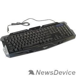 Клавиатура Клавиатура Gembird KB-G11L, игровая, 3 различные подсветки, 10 доп. клавиш