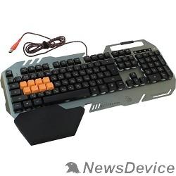 Клавиатура Клавиатура A-4Tech Bloody B418 black/Gray USB Multimedia Gamer LED (подставка для запястий) 326279