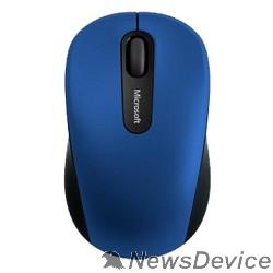 Мышь Мышь Microsoft Mobile 3600 голубой/черный оптическая (1000dpi) беспроводная BT (2but) PN7-00024