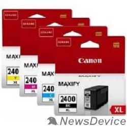 Расходные материалы Canon PGI-2400XL  9257B004 Набор картриджей черный / голубой / пурпурный / желтый (GQ)