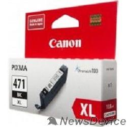 Расходные материалы Canon CLI-471XLBK 0346C001 Картридж для PIXMA MG5740/MG6840/MG7740, черный