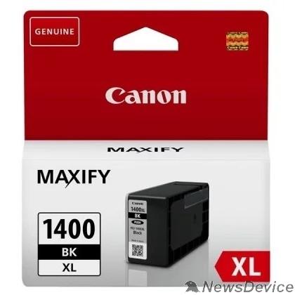Расходные материалы Canon PGI-1400XL BK Картридж струйный для MAXIFY МВ2040 и МВ2340, чёрный, 1200 стр. (GQ)