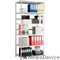 Металлические стеллажи Стеллаж MS 200/100х40/6 (Размеры внешние (ВхШхГ) 2000х1000х400 мм, 6 полок, с единой стойкой) S24199164602