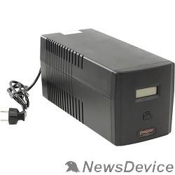 ИБП Exegate EP212519RUS ИБП Exegate Power Smart ULB-1000 LCD <1000VA, Black, 2 евророзетки+2 розетки IEC320, USB>