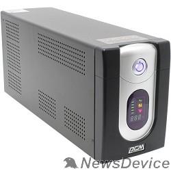 ИБП UPS PowerCom IMD-3000AP Line-Interactive, 3000VA / 1800W, Tower, IEC, LCD, USB