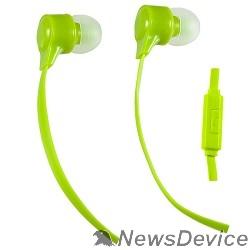 Наушники Perfeo наушники внутриканальные c микрофоном HANDY лайм PF-HND-LME