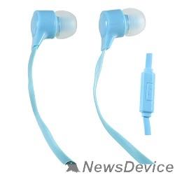 Наушники Perfeo наушники внутриканальные c микрофоном HANDY голубые PF-HND-AZR