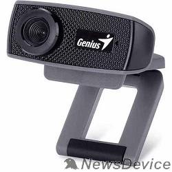 Web-камеры Web-камера Genius FaceCam 1000X Black 720p HD, универсальное крепление, микрофон, USB 32200003400