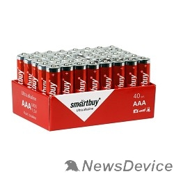 Батарейка Smartbuy LR03/40 bulk (SBBA-3A40S) (40 шт. в уп-ке) - фото 515550
