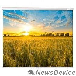 Экраны LUMIEN LUMIEN Eco Picture LEP-100105 Настенный экран 160х160 см, Matte White восьмигранный корпус, возможность потолочн./настенного крепления, уровень в комплекте, 1:1
