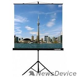 Экраны LUMIEN Lumien Eco View LEV-100105 Экран на треноге 160x160 см 1:1 напольный рулонный