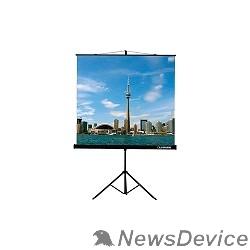 Экраны LUMIEN Lumien Eco View LEV-100103  Экран на треноге 200x200 см 1:1 напольный рулонный