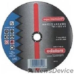 Диски отрезные, пильные, шлифовальные Metabo 616115000 Круг отр сталь Flexiamant S 230x2,5 прямой А36Т
