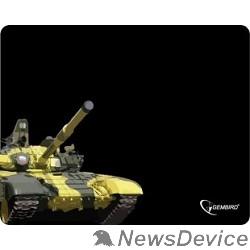 """Коврики Коврик для мыши Gembird MP-GAME10, рисунок- """"танк"""", размеры 250*200*3мм"""