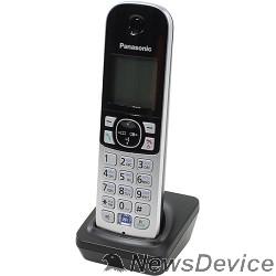 Телефон Panasonic KX-TGA681RUB (черный) дополнительная трубка (для KX-TGA68xx)