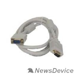 Кабель HDMI / DVI 5bites APC-133-010 Кабель VGA сигнальный HD15M/HD15M, ферр.кольца, 1м.